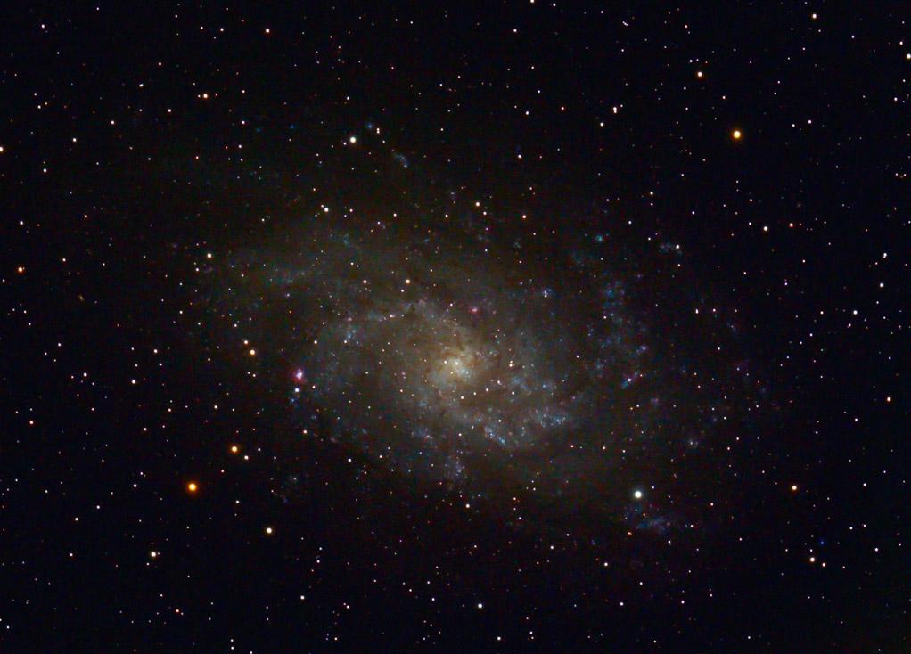 M 33 im Sternbild Dreieck