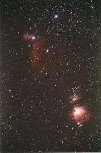Orion-und-Pferdekopfnebel-1